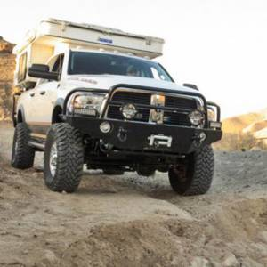 Aluminess - Aluminess 210146 Front Bumper without Guard for Dodge Power Wagon 2010-2018 - Image 6