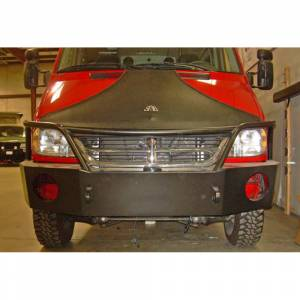 Aluminess - Aluminess 210165 Non Winch Front Bumper for Mercedes Sprinter 2003-2006 - Image 5