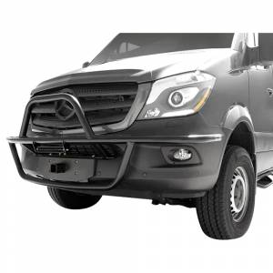 """Aluminess - Aluminess 210223 2"""" Front Receiver Hitch for Mercedes Sprinter 2007-2018 - Image 2"""