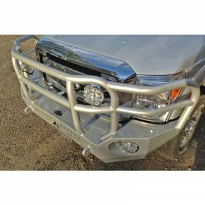 Aluminess - Aluminess 210301 Slimline Front Bumper with Bull Bar for Ford F250/F350 2011-2016 - Image 4