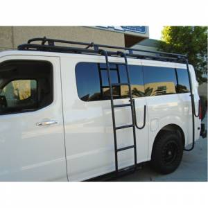 Van Bumpers - Nissan NV - Aluminess - Aluminess 210314 Low Roof Surf Pole for Nissan NV 2011-2020