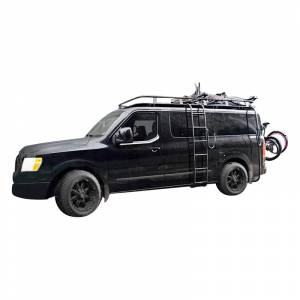 Van Bumpers - Nissan NV - Aluminess - Aluminess 210438 Low Roof Rack for Nissan NV 2011-2014