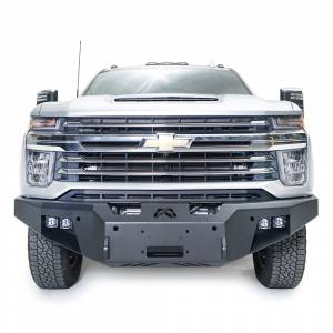 Fab Fours - Fab Fours CH20-A4951-1 Premium Front Bumper with No Guard forChevy Silverado 2500HD/3500 2020-2021 - Image 2