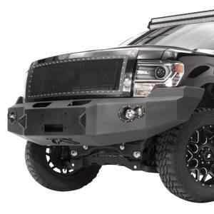 Fab Fours FF09-H1951-1 Front Bumper with No Guard for Ford F150 2009-2014