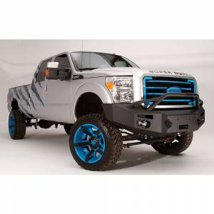 Fab Fours - Fab Fours FS11-A2552-1 Winch Front Bumper with Pre-Runner Guard for Ford F250/F350 2011-2016 - Image 2