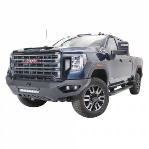 Fab Fours - Fab Fours GM20-V5051-1 Vengeance Front Bumper with No Guard for GMC Sierra 2500/3500 2020-2021