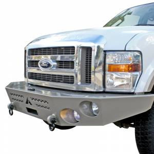 Aluminess - Aluminess 210303.3 Front Bumper without Brush Guard for Ford F250/F350/F450/F550 2017-2021