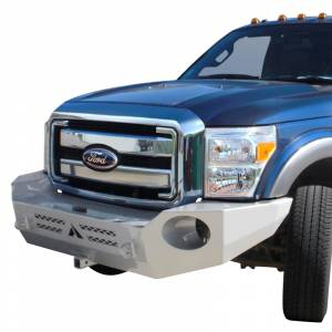 Aluminess - Aluminess 210318.1 Front Bumper without Brush Guard for Ford F250/F350/F450/F550 2017-2020