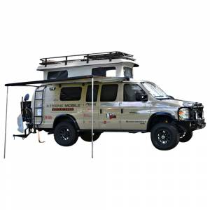 Aluminess - Aluminess 210405.1 Extended Body SMB Tex/IND Penthouse Roof Rack for Ford Econoline Van 1992-2014