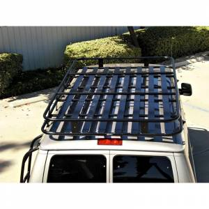 Aluminess - Aluminess 210407.1 Extended Body SMB West Voyager Top Roof Rack for Ford Econoline Van 1992-2014