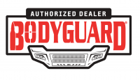 Bodyguard - Bodyguard GBC15FY1T A2L Baja Front Bumper with Sensor Holes Single Light Bar cutout Textured Black Chevy Suburban 2015-2020