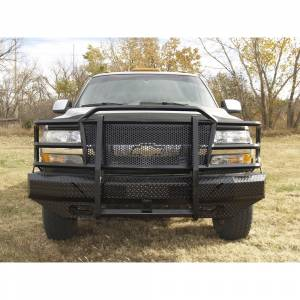 Thunderstruck - Thunderstruck CHD01-200 Elite Front Bumper for Chevy Silverado 2500 HD/3500 2001-2002