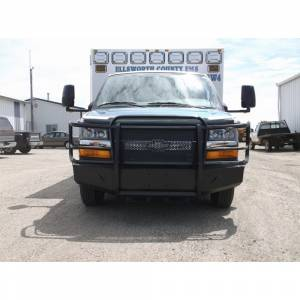Van Bumpers - Chevy Express Vans - Thunderstruck - Thunderstruck CXV03-200 Elite Front Bumper for Chevy 2500/3500/4500 Express Van 2003-2020
