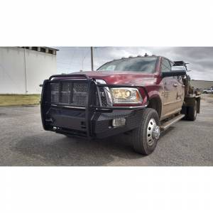 Thunderstruck - Thunderstruck DHD10-200-PW Elite Front Bumper with Power Wagon for Dodge Ram 2500/3500 2010-2018