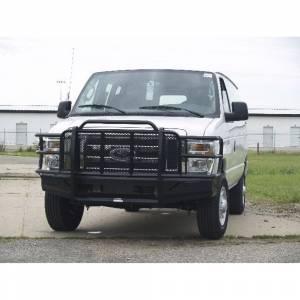 Van Bumpers - Ford Econoline Vans - Thunderstruck - Thunderstruck FEV08-200 Elite Front Bumper for Ford E150/E250/E350 2008-2020