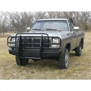 Thunderstruck OSD91-200 Elite Front Bumper for Dodge Ram 1500/2500/3500 1991-1993