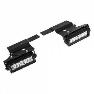ZROADZ Z325651-KIT Front Bumper OEM Fog LED Kit for Ford F150 Raptor 2010-2014