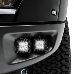 ZROADZ Z325671 Front Bumper OEM Fog LED Bracket for Ford F150 Raptor 2010-2014- Brackets ONLY