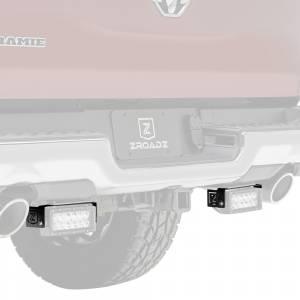 ZROADZ Z384721 Rear Bumper LED Bracket for Dodge Ram 1500 2019-2020