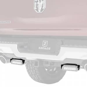 ZROADZ Z384821 Rear Bumper LED Bracket for Dodge Ram 1500 2019-2020