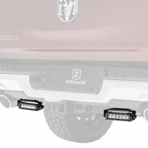 ZROADZ Z384821-KIT Rear Bumper LED Kit for Dodge Ram 1500 2019-2020