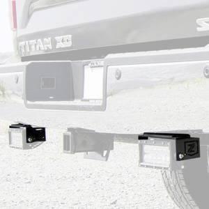 ZROADZ Z387581 Rear Bumper LED Bracket for Nissan Titan 2016-2019