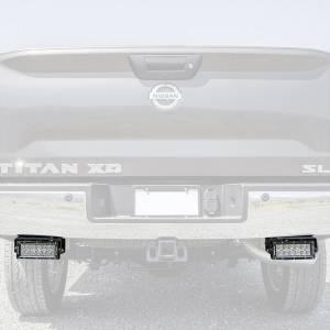 ZROADZ Z387581-KIT Rear Bumper LED Kit for Nissan Titan 2016-2019