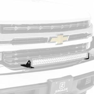 ZROADZ Z322282 Front Bumper Top LED Bracket for Chevy Silverado 1500 2019-2020 - Brackets ONLY