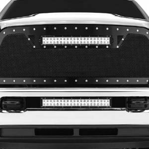 ZROADZ Z324521 Front Bumper Center LED Bracket for Dodge Ram 2500/3500 2010-2019- Brackets ONLY