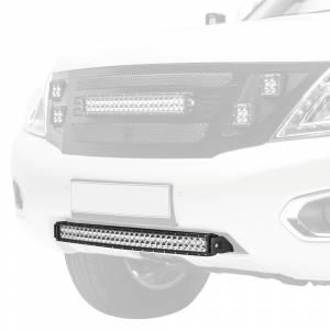 ZROADZ Z327871-KIT Front Bumper Center LED Kit for Nissan Patrol Y62 2010-2017