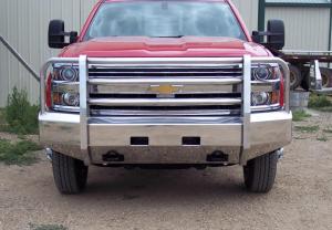 Truck Defender Aluminum - Chevy - Truck Defender - Truck Defender Aluminum Front Bumper Chevy Silverado 2500HD/3500 2020-2021