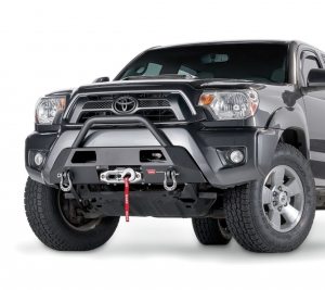 Bumpers by Style - Winch Mount | Hidden Winch Bumpers - Warn Semi-Hidden Winch Mount Bumpers