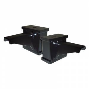 "Suspension Parts - Lift Blocks - Icon Vehicle Dynamics - Icon 194275 4"" Block Kit for Ford F250/F350 1999-2004"