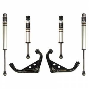 """Icon Vehicle Dynamics - Icon K77101 Stage 2 0""""-2.5"""" Front and Rear Lifted Suspension Lift Kit for Chevy Silverado and GMC Sierra 2500 HD/3500 HD 2001-2010"""