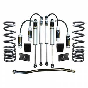 """Icon Vehicle Dynamics - Icon K212502 Stage 2 2.5"""" Front and Rear Lifted Suspension Lift Kit for Dodge Ram 2500/3500 2003-2012"""