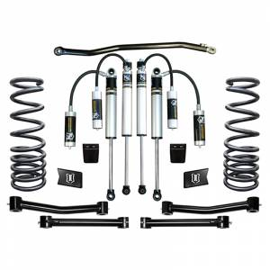 """Icon Vehicle Dynamics - Icon K212503T Stage 3 2.5"""" Front and Rear Lifted Suspension Lift Kit for Dodge Ram 2500/3500 2003-2012"""