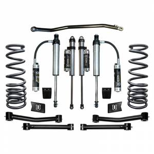 """Icon Vehicle Dynamics - Icon K212505T Stage 5 2.5"""" Front and Rear Lifted Suspension Lift Kit for Dodge Ram 2500/3500 2003-2012"""