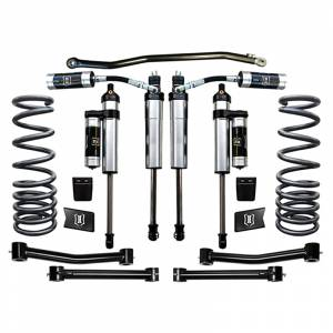 """Icon Vehicle Dynamics - Icon K212504T Stage 4 2.5"""" Front and Rear Lifted Suspension Lift Kit for Dodge Ram 2500/3500 2003-2012"""