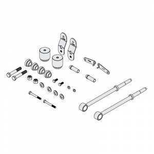 "Suspension Parts - Lift Kits - Icon Vehicle Dynamics - Icon 64000 4.5"" Front Box Kit for Ford F250/F350 2005-2007"