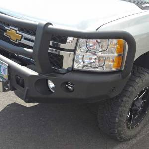 TrailReady - TrailReady 10650G Winch Front Bumper with Full Guard for Chevy Suburban 2500 2007-2010 - Image 3