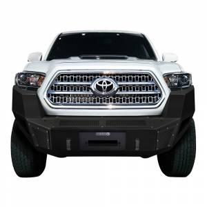 Truck Bumpers - Go Rhino BR-Series - Go Rhino - Go Rhino 24388T BR5 Winch Front Bumper for Toyota Tacoma 2016-2020