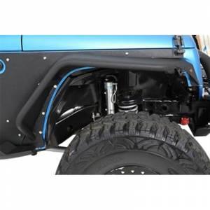 Smittybilt - Smittybilt 76838 XRC Flux Flares for Jeep Wrangler JK 2007-2018 - Image 2