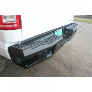 Bodyguard - Bodyguard DFR19B A2 Rear Bumper with Sensor Holes for Dodge Ram 2500 HD/3500 HD 2019-2020 (New Body Style) - Image 3