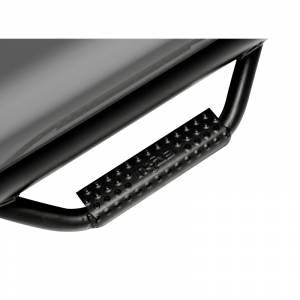 N-Fab - N-Fab C0180CC-TX Cab Length Nerf Bars for Chevy Silverado and GMC Sierra 1500/1500 HD/2500/2500 HD/3500 Crew Cab 2001-2006 - Textured Black