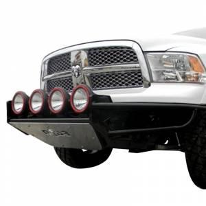 N Fab RSP Front Bumper - Dodge - N-Fab - N-Fab D094RSP-TX Multi Mount RSP Pre-Runner Front Bumper for Dodge Ram 1500 2009-2020 - Textured Black