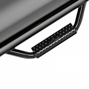 N-Fab - N-Fab D0952RC Cab Length Nerf Bars for Dodge Ram 1500/2500/3500 Standard Cab 2009-2020 - Gloss Black