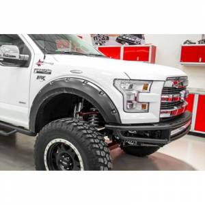 N-Fab - N-Fab F151MRDS M-RDS Pre-Runner Front Bumper for Ford F150 2015-2017 - Gloss Black - Image 2