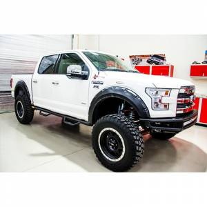 N-Fab - N-Fab F151MRDS M-RDS Pre-Runner Front Bumper for Ford F150 2015-2017 - Gloss Black - Image 3