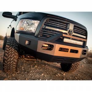 Truck Bumpers - ICI Aluminum Series - ICI - ICI AL-FBM99DGN-RTAluminumFront Bumper for Dodge Ram 2500/3500 2010-2018