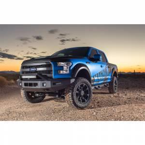 Truck Bumpers - ICI Aluminum Series - ICI - ICI AL-FBM84FDN-RTAluminumFront Bumper for Ford F150/F150 EcoBoost 2015-2017